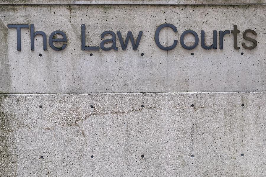Law courts London United Kingdom